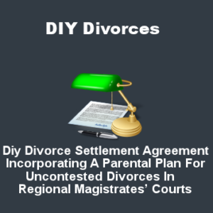 DIY Divorce Settlement Agreement